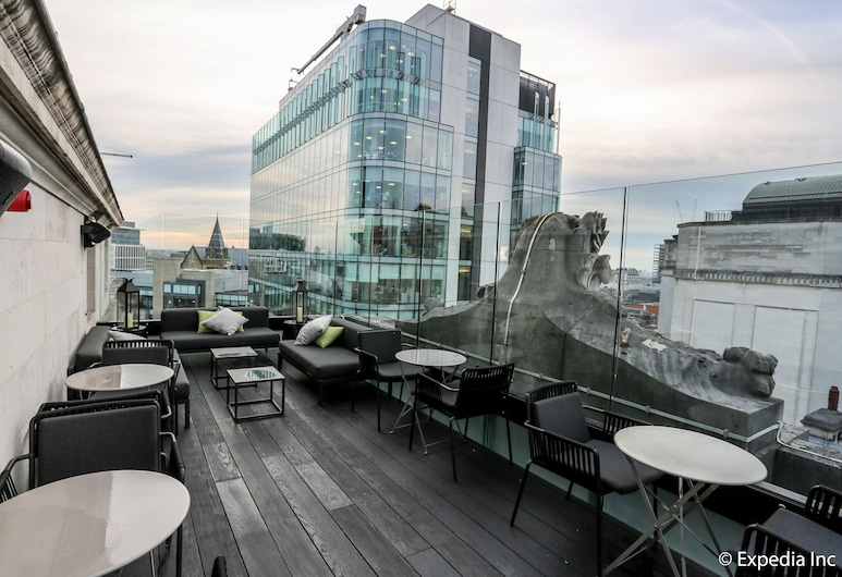 Hotel Gotham, Manchester, Terraza o patio