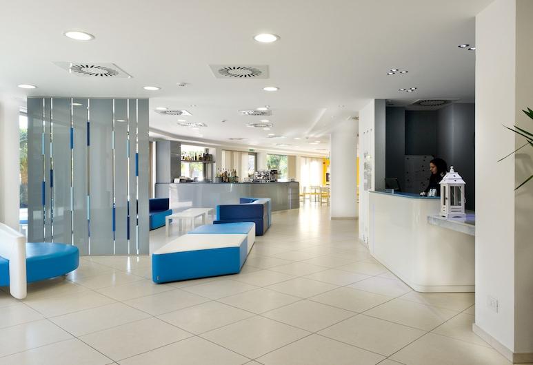 Hotel Oceanomare, Ravena, Sala de estar en el lobby