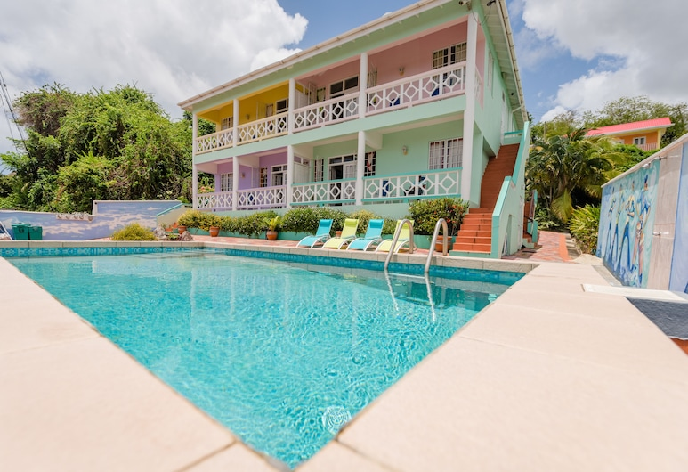 Four Springs Villa, Gros Islet, Outdoor Pool