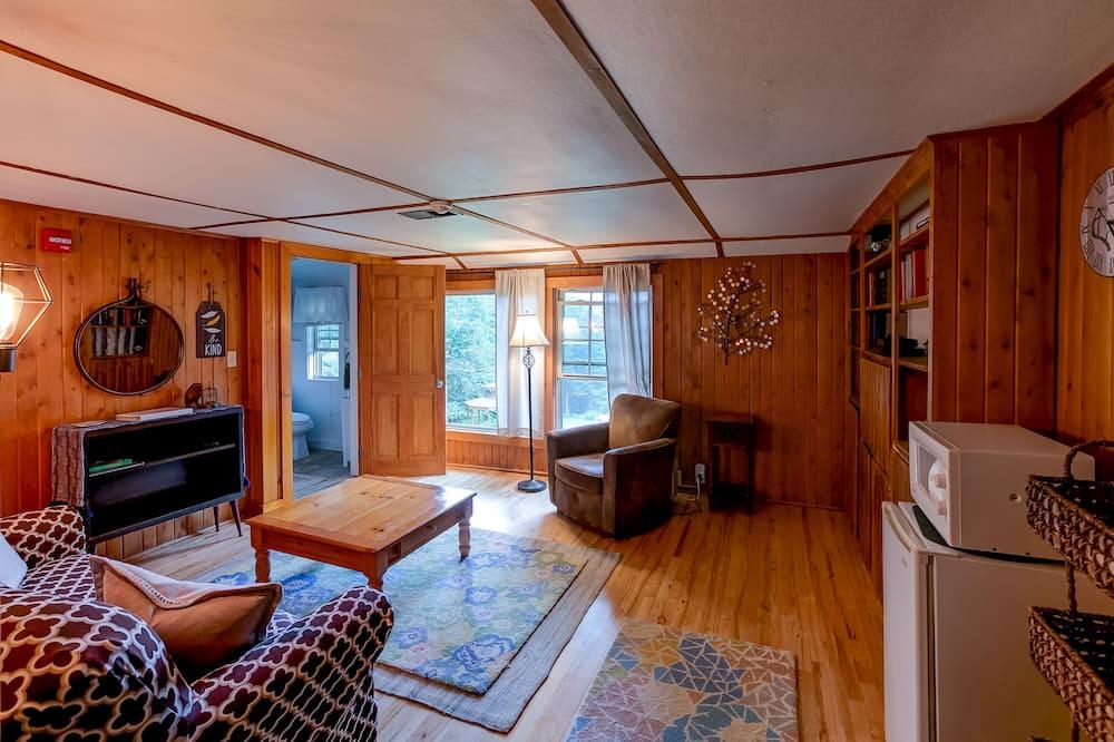 Luksusa numurs, divas guļamistabas - Dzīvojamā zona