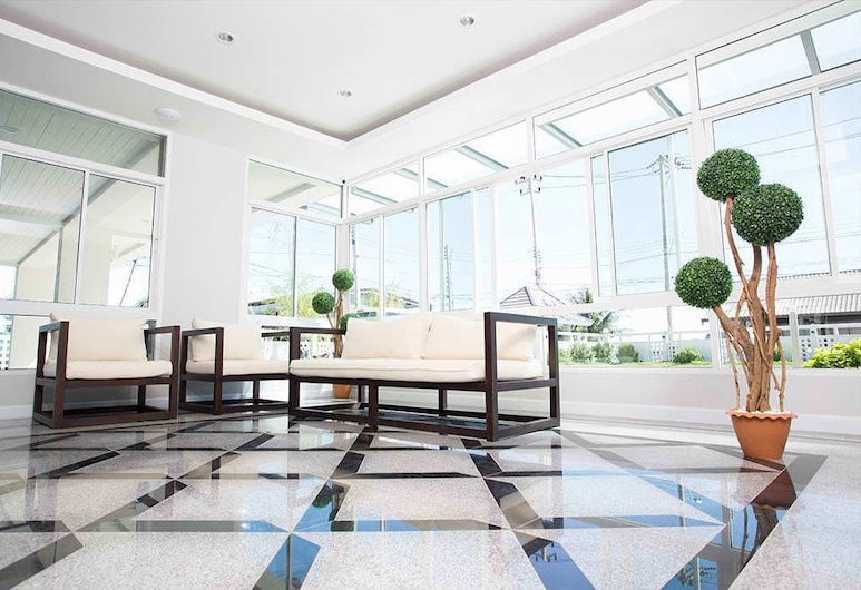 BBG Seaside Luxurious Service Apartment, Chonburi, Lobi Dinlenme Salonu