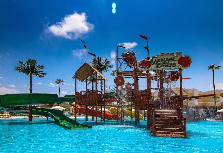 Sun Palace Hotel, Rhodes, Taman Air