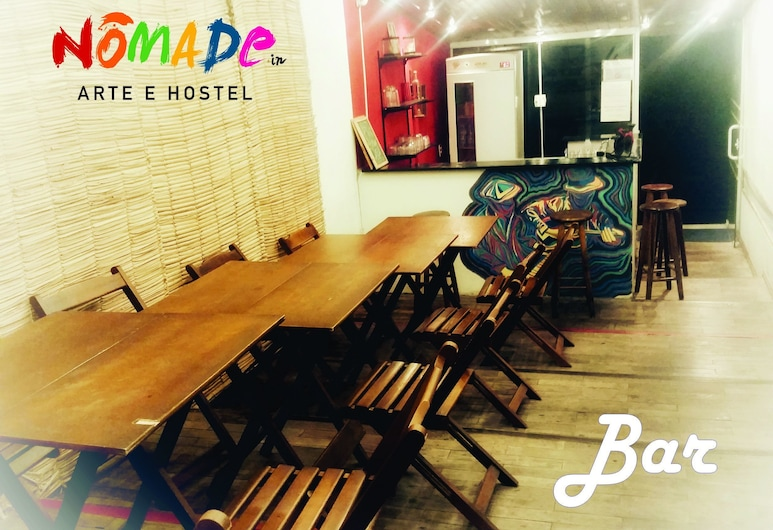 Nomade In Arte e Hostel São Paulo, Sao Paulo, Hotel Bar