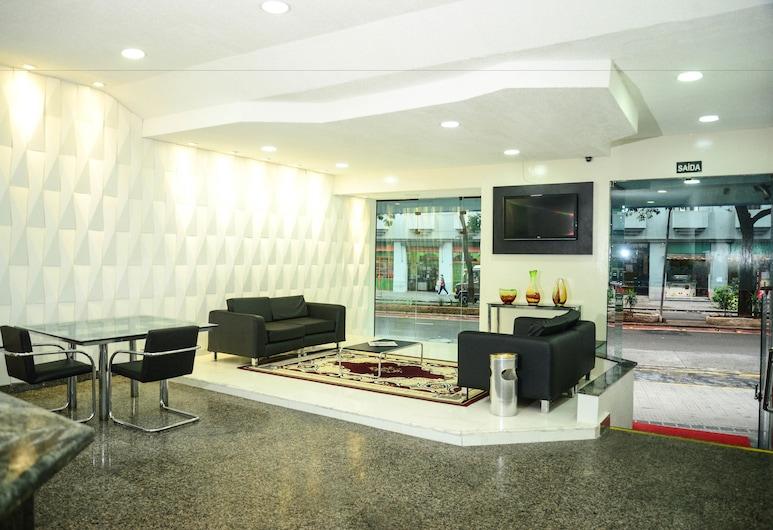 Nacional Inn São Paulo, São Paulo, Sitzecke in der Lobby