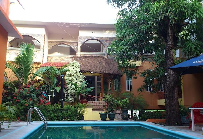 Hotel Paraíso Huasteco, Tamazunchale, Utendørsbasseng