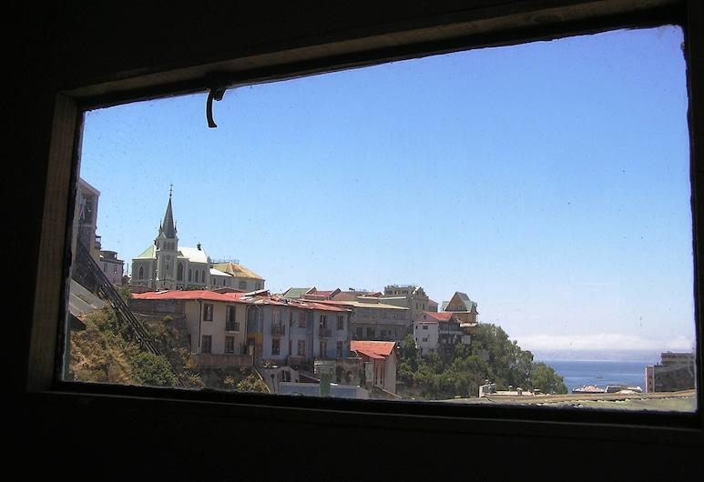 Casa Violeta Limon, Valparaiso, Külaliskorter, 2 magamistoaga, vaade ookeanile, Vaade hoonest