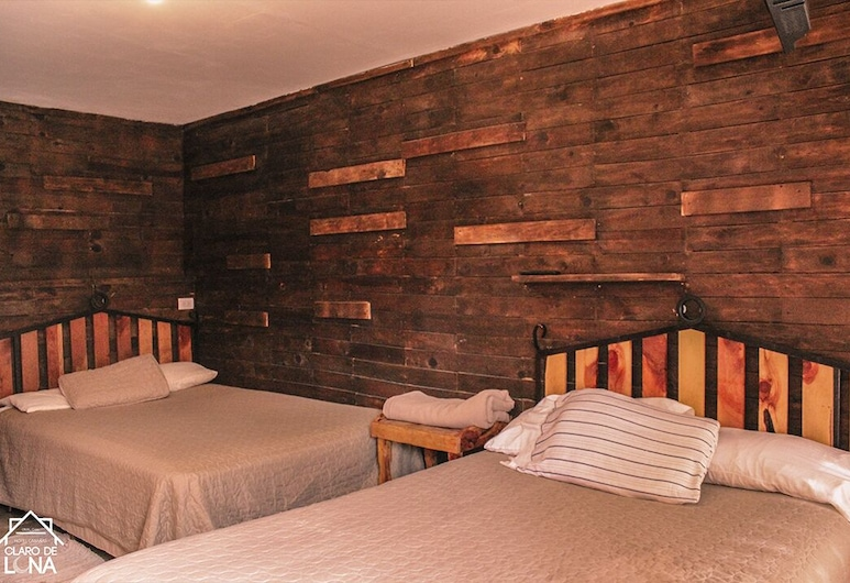 CABAÑAS CLARO DE LUNA, Bocoyna, Family Double Room, Room