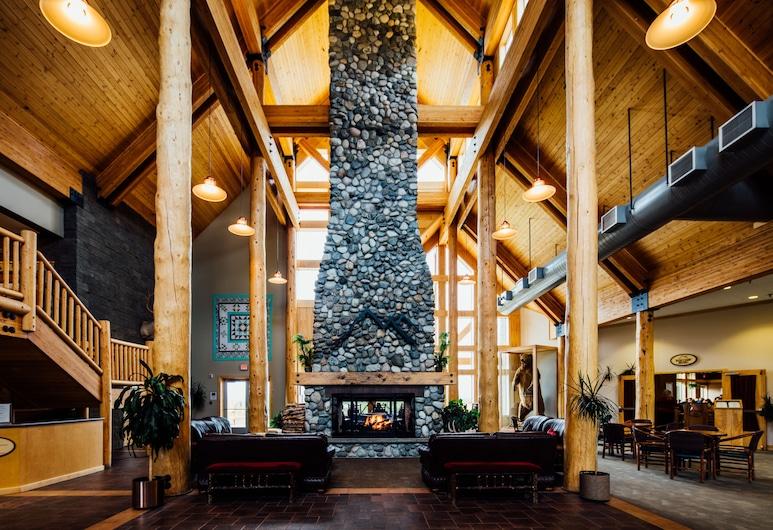 Talkeetna Alaskan Lodge, Talkeetna, Lobby-Lounge