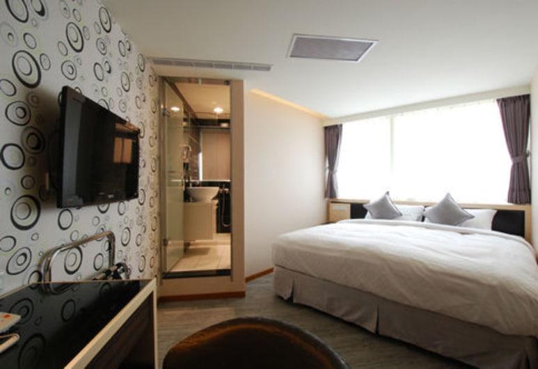 Shin Shin Hotel, Taipei, Standard Double Room, Bilik Tamu