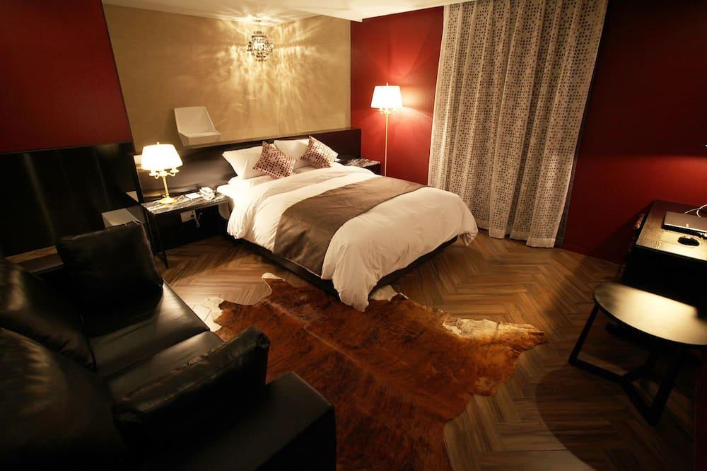 Habitación Deluxe doble - Zona de estar