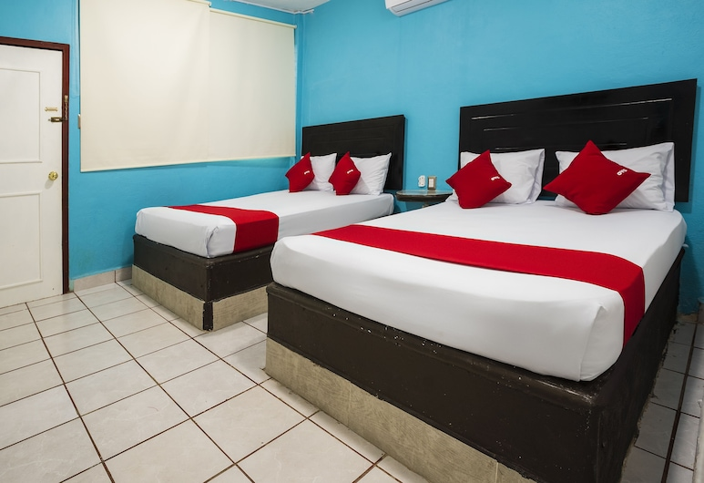OYO 美洲酒店, 巴卡拉爾, 標準客房, 2 張標準雙人床, 客房