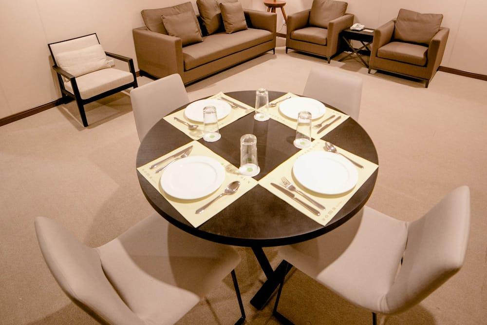 Apartmán typu Executive - Stravovanie v izbe