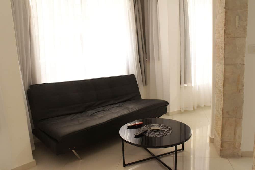 Lejlighed, 1 soveværelse - Opholdsområde