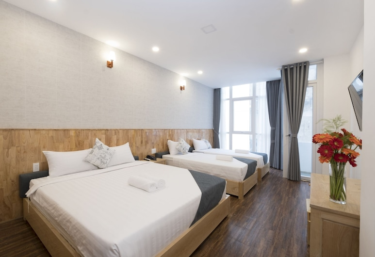 Beauty Guesthouse, Ho Chi Minh City, Deluxe Family Room , Guest Room