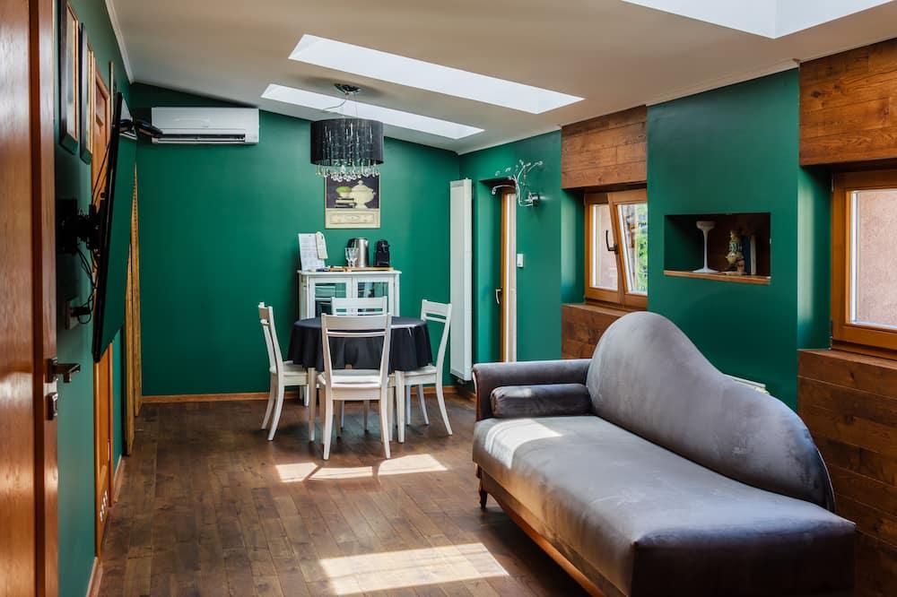Deluxe Apartment, 1 Bedroom - Ruang Tamu