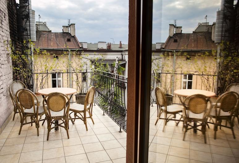 Aparthotel Oberza, Krakow, Deluxe Apartment, 1 Bedroom, Terrace/Patio