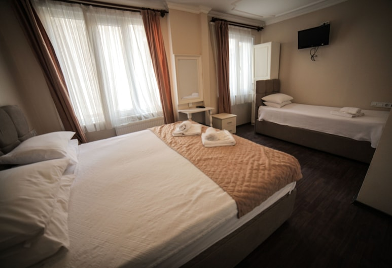 Hotel Rose Bouquets, Istanbul, Standard Triple Room, Non Smoking, City View, Guest Room