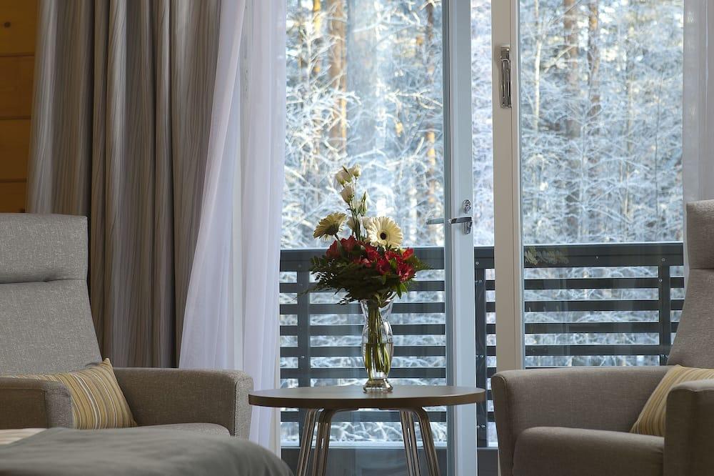 高級雙人房, 1 張特大雙人床 - 客廳
