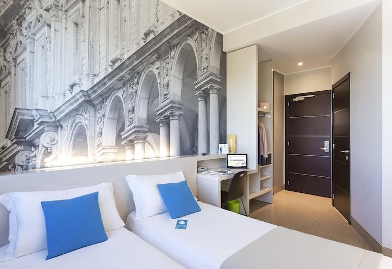 B&B Hotel Milano Cenisio Garibaldi, Milan, Kamar Twin, non-smoking, Tempat Makan Di Kamar