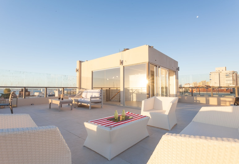 20 Hotel, Punta del Este, Teres/Laman Dalam