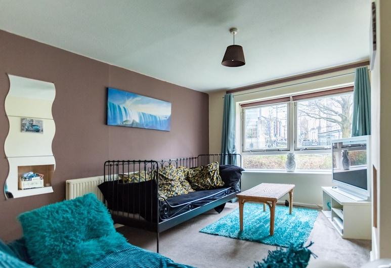 Tony Asga - Aisha.Sakina Apartments, Edinburgh, Tweepersoonskamer, Woonkamer
