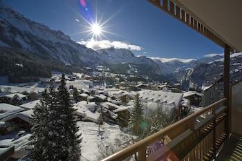 Wengen bölgesindeki Hotel Jungfraublick Wengen resmi