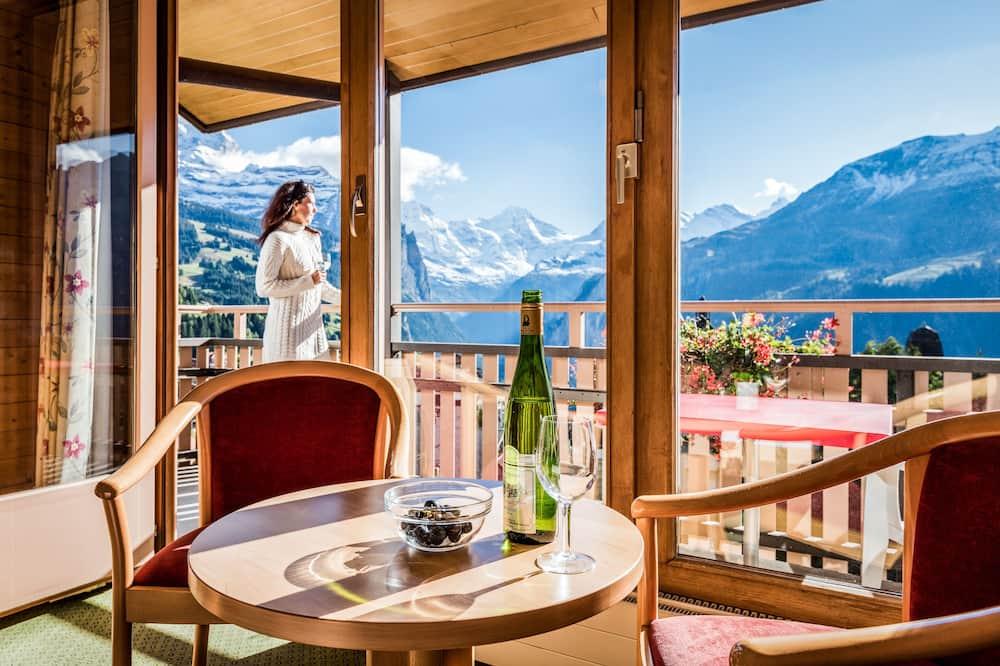 Double Room, Balcony, Mountain View - Balcony