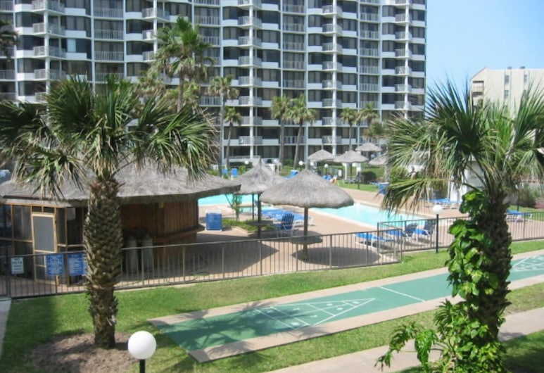 Beach Front Condos by Island Services, South Padre Island, Condo, 2 Bedrooms, Hot Tub, Beachfront (Saida III), Property Grounds