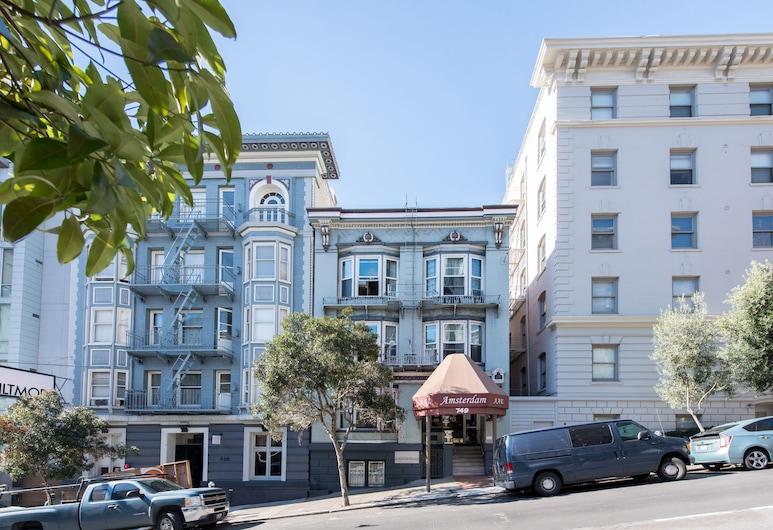 Amsterdam Hostel, San Francisco, Hotel Front
