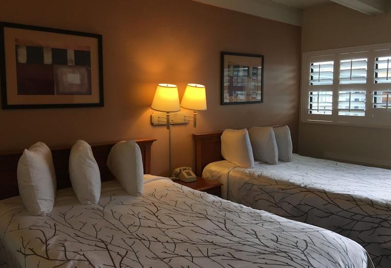 Van Ness Inn, San Francisco, Standard Room, 2 Double Beds, Guest Room