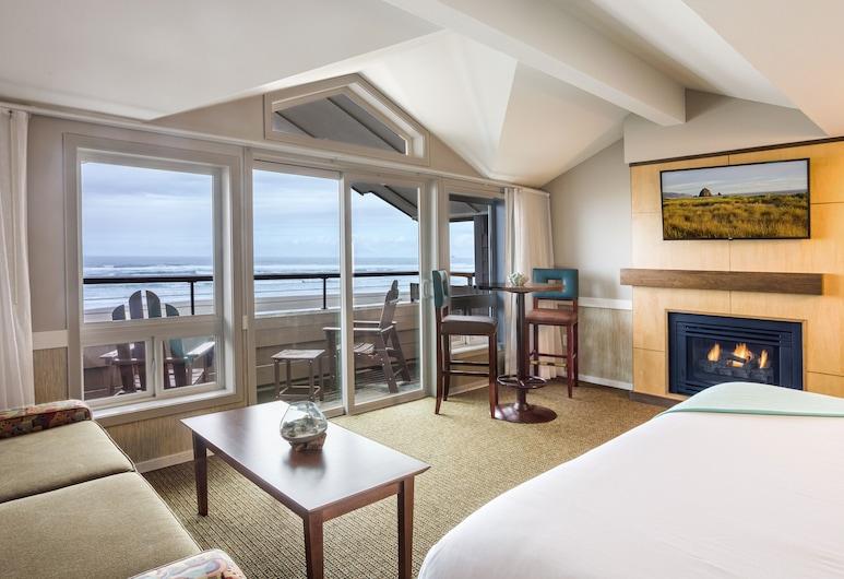 Surfsand Resort, Cannon Beach, Beachfront King Studio, Guest Room View