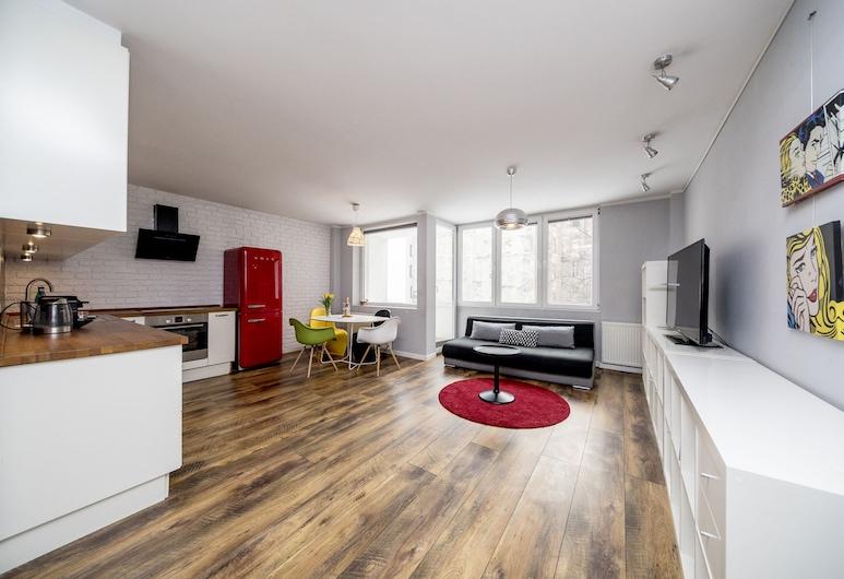 Apartament Ten by Your Freedom, Варшава, Люкс, Зона гостиной