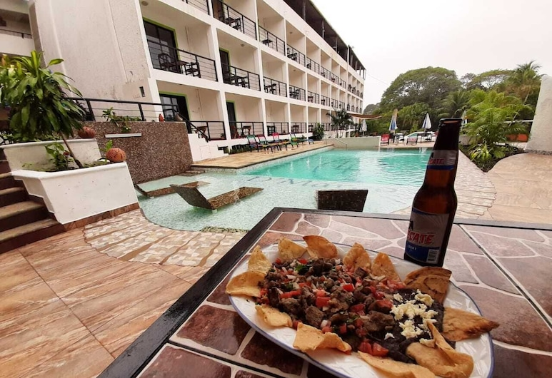 Hotel La Quinta Exxpres, Palenque, Ruokailu