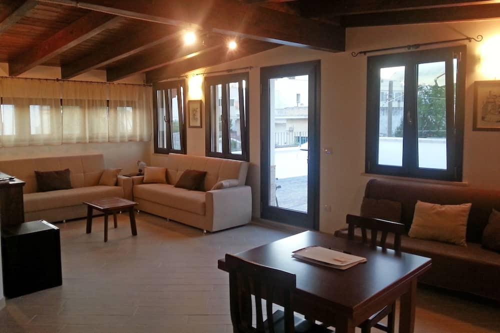 Family Suite, Terrace - Living Area