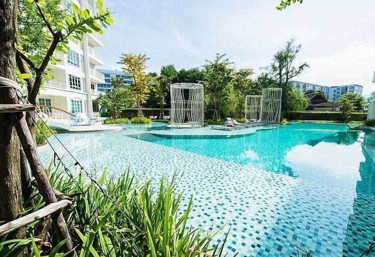 Summer Huahin Condo 2 Bedrooms Pool View By Dome, Hua Hin, Piscine en plein air