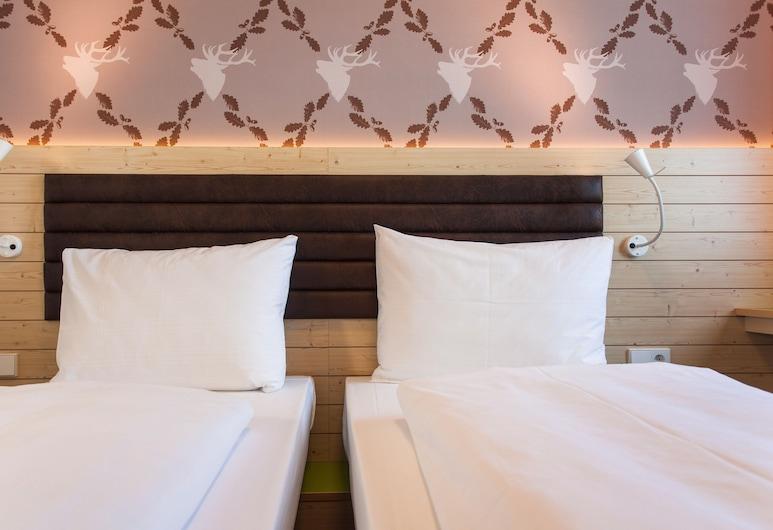 Bavaria Motel, München, Herbergi fyrir tvo, tvö rúm - 2 einbreið rúm, Herbergi