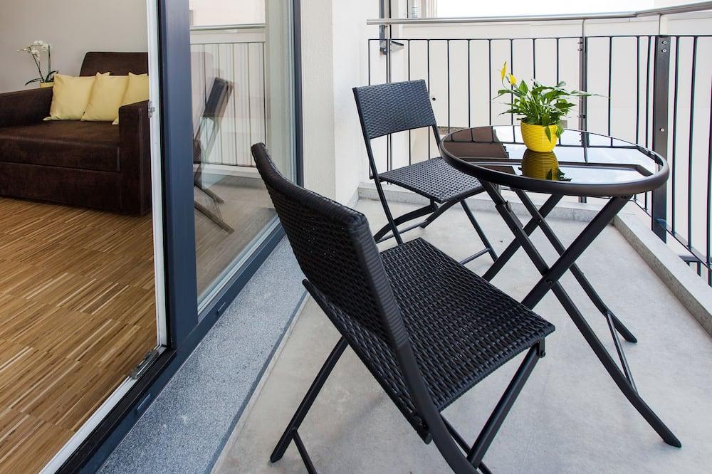 Представительские апартаменты, 3 спальни - Вид с балкона
