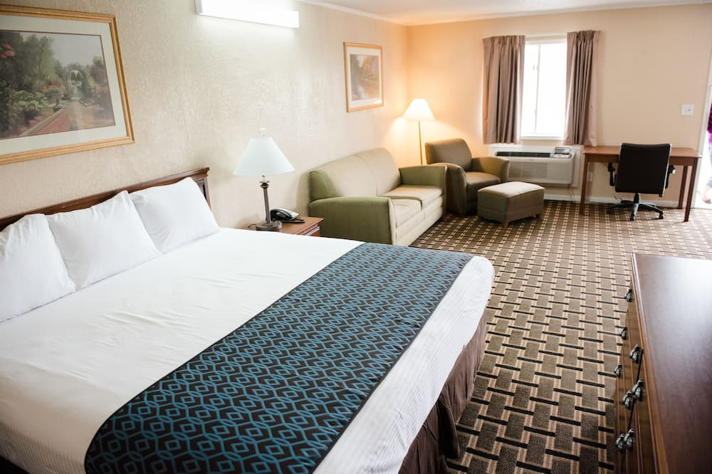 Deluxe Suite, 1 King Bed, Refrigerator & Microwave - Guest Room