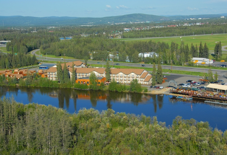 Pike's Waterfront Lodge, Fairbanks, Vista aérea