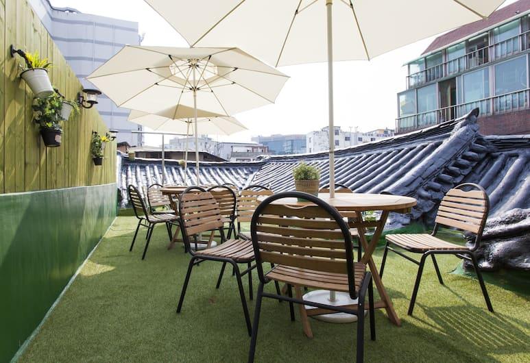 東大門答爾可姆迷你飯店, 首爾, 陽台