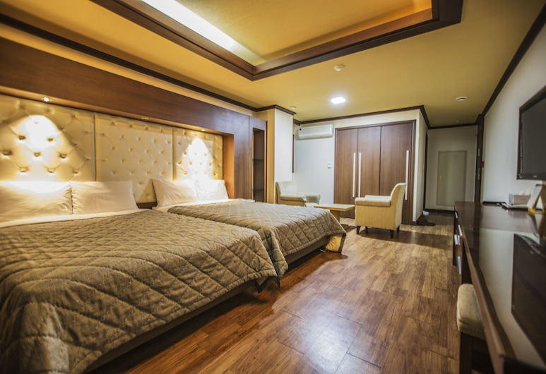 Incheon Airport Hotel Zeumes, Incheon, Chambre Deluxe avec lits jumeaux, Chambre