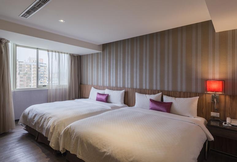 Shin Shin Hotels -Songshan, Taipei, Familie vierpersoonskamer, Kamer