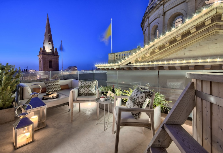 Casa Ellul - Small Luxury Hotels of the World, Valletta, Suite 7 - Duplex Suite, Terrace/Patio