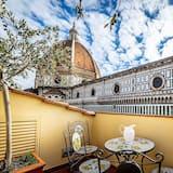 Apartamentai, 3 miegamieji (Duomo View 6 adult) - Balkonas
