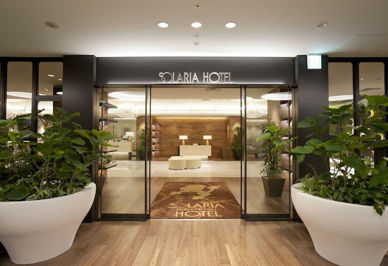 福岡索拉利亞西鐵飯店, 福岡, 飯店入口