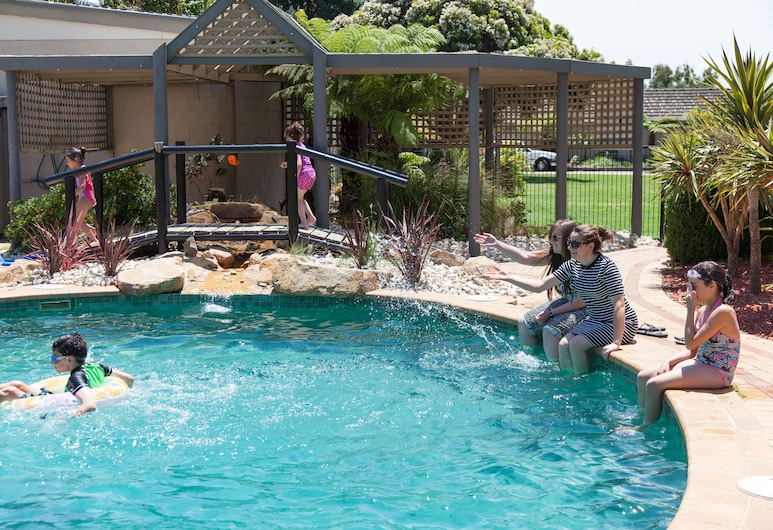 NRMA Bairnsdale Riverside Holiday Park, Bairnsdale, Piscina al aire libre