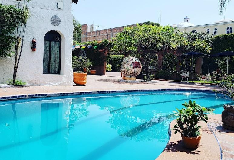 キンタ ドン ホセ ブティック ホテル, トラケパケ, 屋外プール