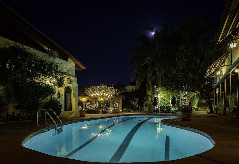 Quinta Don Jose Boutique Hotel, Tlaquepaque, Süit, 1 Yatak Odası, Havuz Manzaralı, Havuz Kenarı, Oda Manzarası