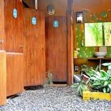 Privada 4 Individuales con banos del jardin - Μπάνιο