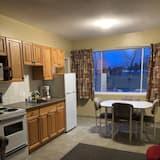 ห้องดับเบิล - มุมทำครัวในห้องพัก